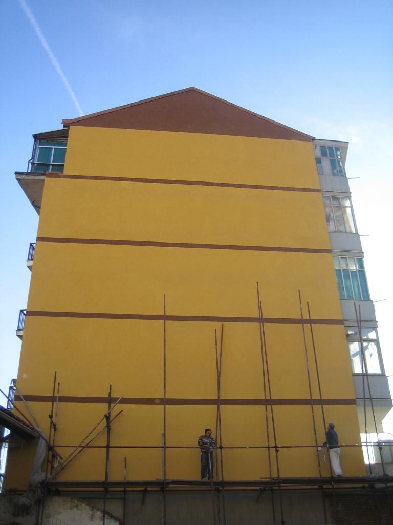 rinforzo strutturale e tinteggiatura facciata - dopo